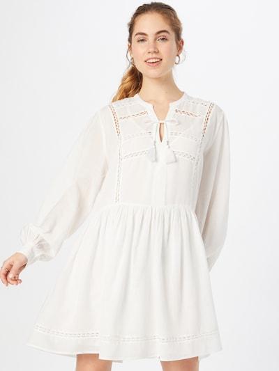Pepe Jeans Blousejurk 'AVA' in de kleur Wit, Modelweergave