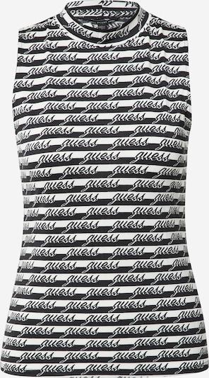 GUESS Toppi värissä musta / valkoinen, Tuotenäkymä