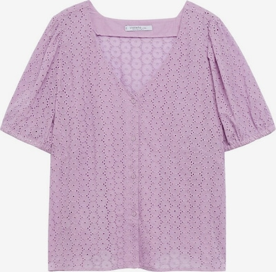 VIOLETA by Mango Blouse 'bobby' in de kleur Lila, Productweergave