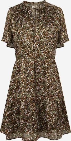 NAF NAF Kleid 'Epi' in khaki / orange / weiß, Produktansicht