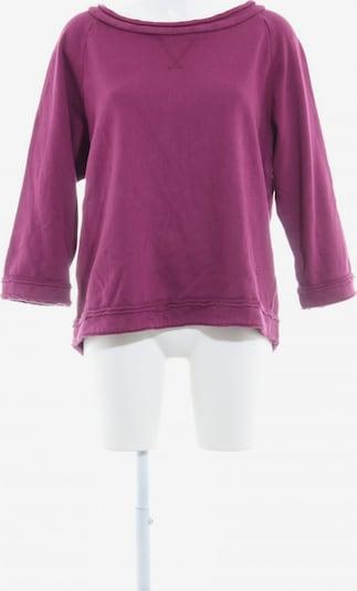 European Culture Sweatshirt in M in rotviolett, Produktansicht