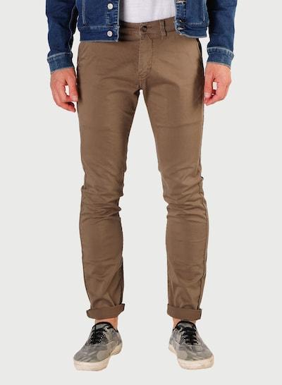 Le Temps Des Cerises Chino Pants 'JAS3' in Khaki, View model