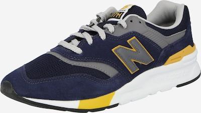 new balance Baskets basses '997' en bleu foncé / jaune, Vue avec produit