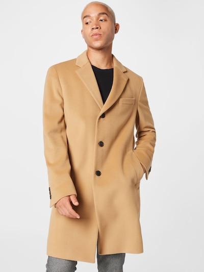 Demisezoninis paltas 'Hyde' iš BOSS, spalva – kupranugario, Modelio vaizdas