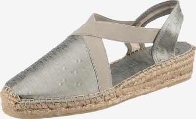 Toni Pons Espadrilles in silber, Produktansicht