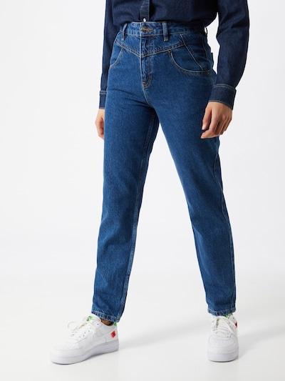 BDG Urban Outfitters Jean '80'S' en bleu foncé, Vue avec modèle