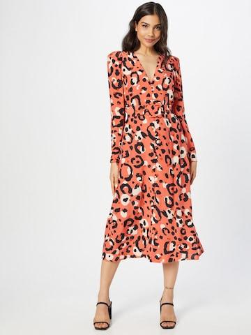 Robe-chemise 'Isbeil' Ted Baker en orange