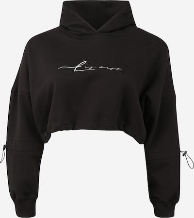 Public Desire Curve Sweatshirt in schwarz / weiß, Produktansicht