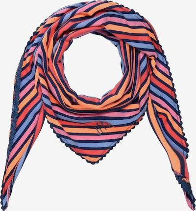 JETTE BY STACCATO Tuch in blau / orange / rosa / rot, Produktansicht