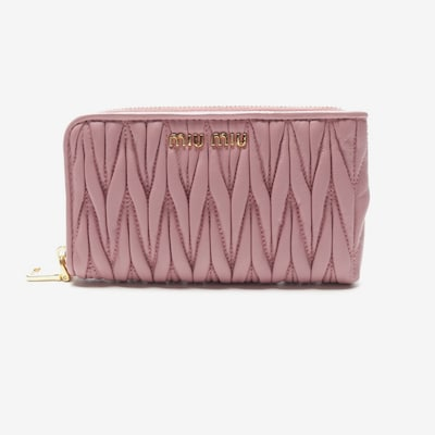 Miu Miu Small Leather Goods in One size in Lilac, Item view