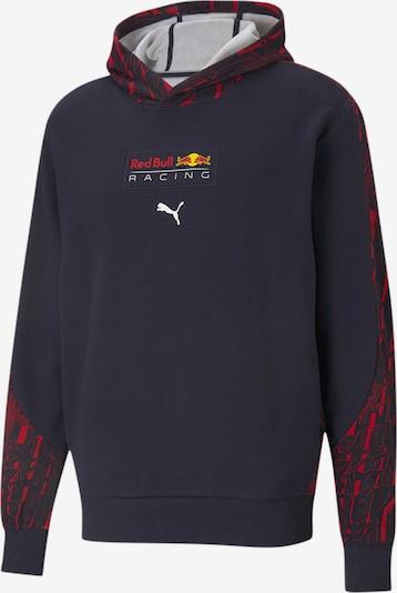 PUMA Sportsweatshirt 'Red Bull Racing' in de kleur Marine / Rood, Productweergave