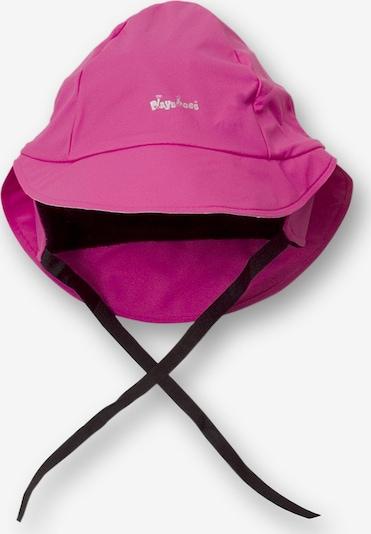 PLAYSHOES Regenmütze in fuchsia / schwarz, Produktansicht