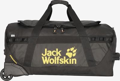 JACK WOLFSKIN Reistas in de kleur Geel / Zwart, Productweergave