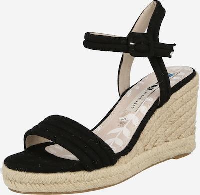 MTNG Sandale 'LOUISA' in schwarz, Produktansicht