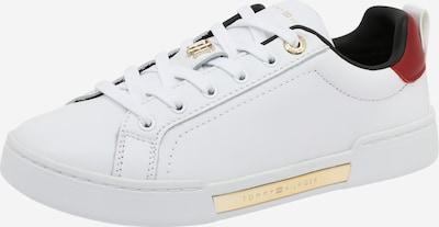 Sneaker low TOMMY HILFIGER pe roșu / alb, Vizualizare produs