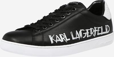 Sneaker low 'KOURT II' Karl Lagerfeld pe negru / alb, Vizualizare produs