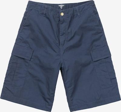 Carhartt WIP Pantalon cargo en bleu: Vue de face