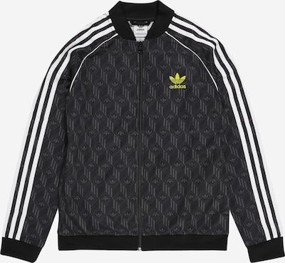 ADIDAS ORIGINALS Trainingsjacke in grün / schwarz / weiß, Produktansicht