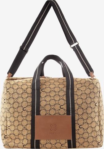 CODELLO Handbag in Brown