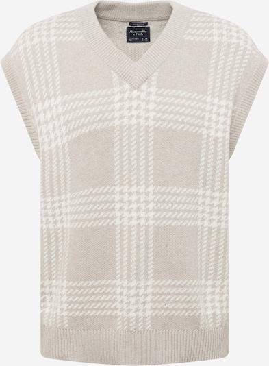 Abercrombie & Fitch Pullunder in camel / weiß, Produktansicht