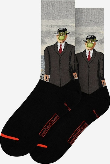 MuseARTa Socken in mischfarben, Produktansicht