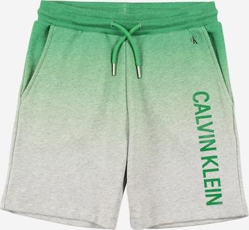 Calvin Klein Jeans Shorts in Grün