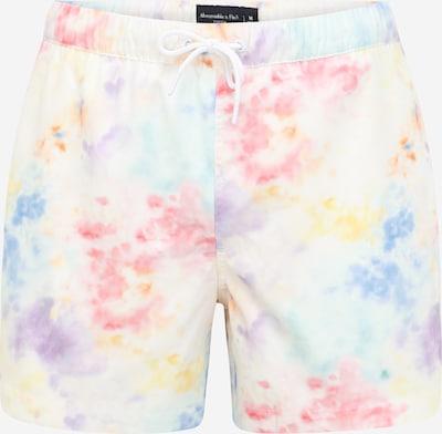 Abercrombie & Fitch Plavecké šortky - žltá / zmiešané farby / koralová / biela, Produkt