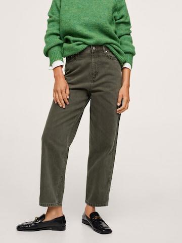 MANGO Jeans 'Janet' in Groen