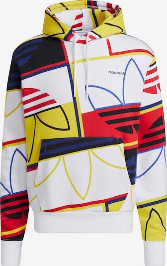 ADIDAS ORIGINALS Pullover in blau / gelb / rot / weiß, Produktansicht