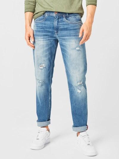 Petrol Industries Jeans 'Riley' i blue denim, Modelvisning