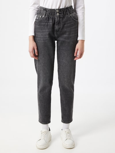 Jeans Calvin Klein Jeans pe gri închis, Vizualizare model