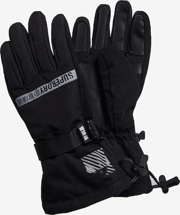 Gants de sport 'Rescue' Superdry en noir