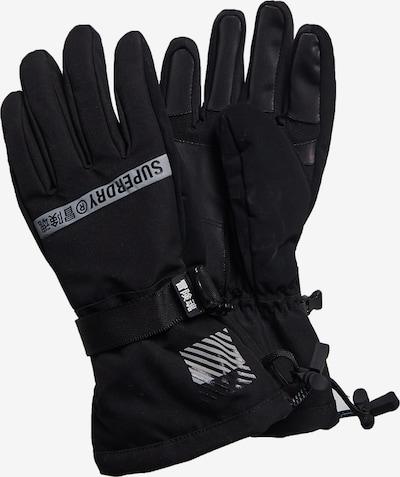 Superdry Sporthandschoenen 'Rescue' in de kleur Grijs / Zwart, Productweergave