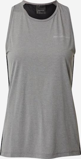 PEAK PERFORMANCE Sportovní top 'Fly' - šedá / antracitová, Produkt