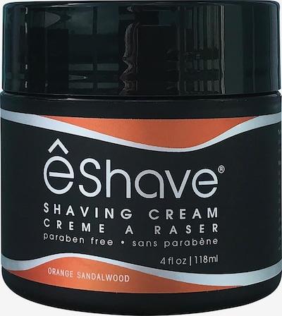 ê Shave Rasiercreme in orangerot / schwarz / weiß, Produktansicht