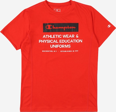 Champion Authentic Athletic Apparel T-Shirt in navy / rot / weiß, Produktansicht