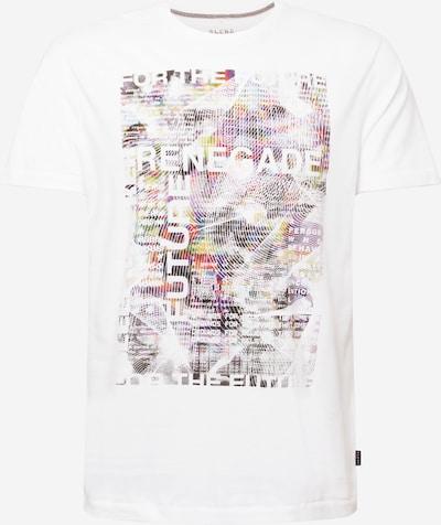 BLEND T-Shirt in mischfarben / weiß, Produktansicht