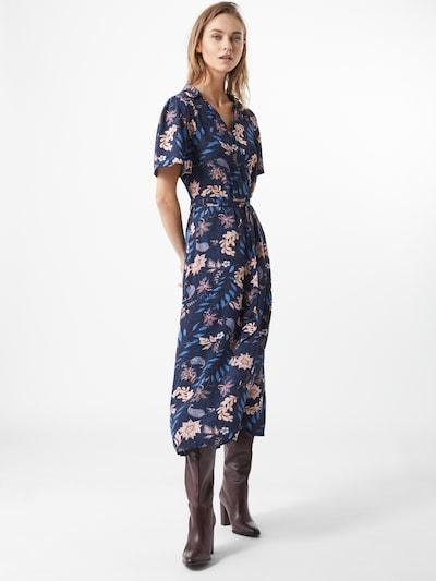 TOM TAILOR Kleid in dunkelblau / mischfarben, Modelansicht