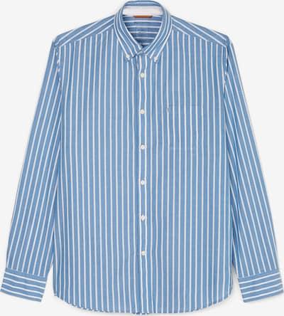 Marc O'Polo Hemd in hellblau / weiß, Produktansicht