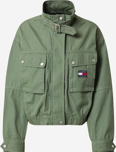 Tommy Jeans Jacke in oliv, Produktansicht