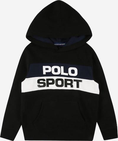 POLO RALPH LAUREN Sweatshirt in de kleur Navy / Zwart / Wit, Productweergave