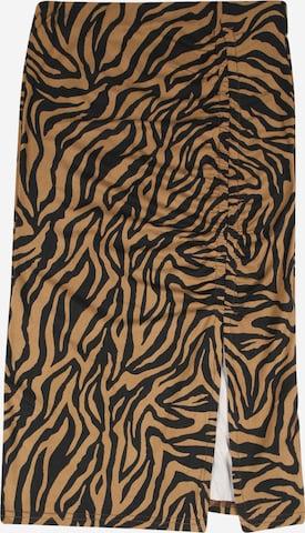 D-XEL Skirt 'ULRIKKA' in Brown