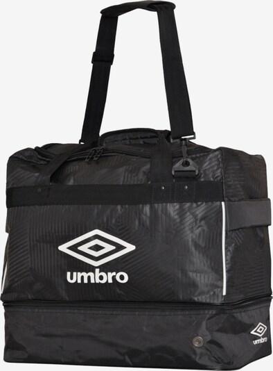 UMBRO Tasche in schwarz / weiß, Produktansicht