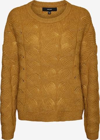 VERO MODA Sweater 'STINNA' in Yellow