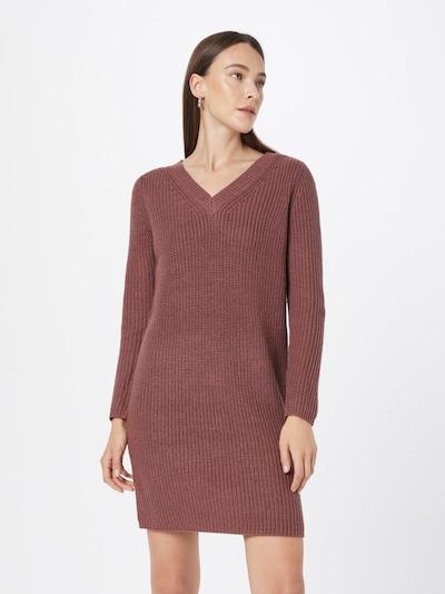 ONLY Gebreide jurk 'Melton' in de kleur Rosé, Modelweergave
