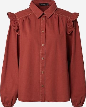 SOAKED IN LUXURY Bluse 'Emely' in Rot