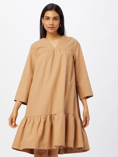 Rochie tip bluză 'Giselle' SAINT TROPEZ pe maro deschis, Vizualizare model