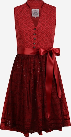 MARJO Dirndl 'Milina' in rot, Produktansicht