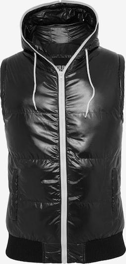 Urban Classics Bodywarmer in de kleur Zwart, Productweergave