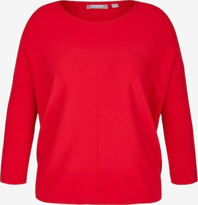 Rabe Pullover in hellrot, Produktansicht